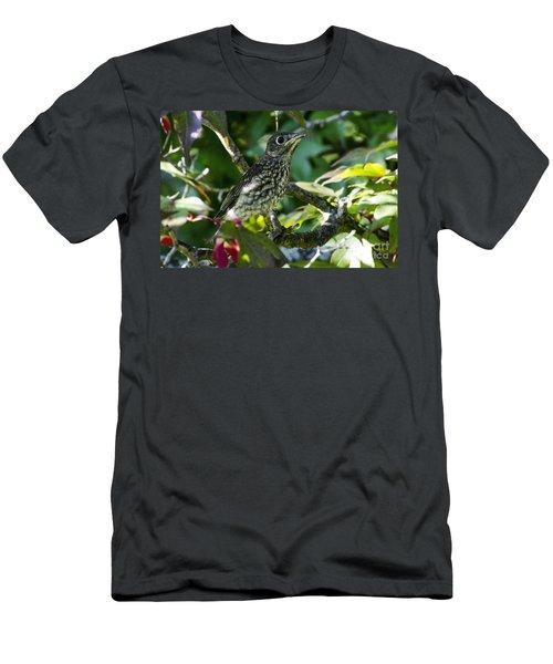 Left The Nest Men's T-Shirt (Athletic Fit)