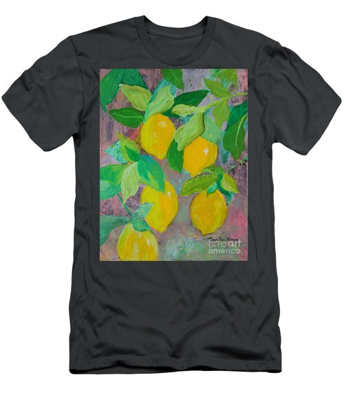 Lemons On Lemon Tree Men's T-Shirt (Athletic Fit)