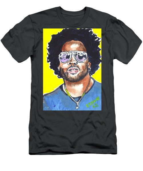 Lenny Kravitz Men's T-Shirt (Athletic Fit)