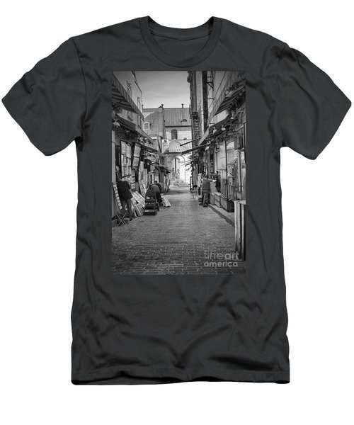 Men's T-Shirt (Slim Fit) featuring the photograph Les Artistes by Eunice Gibb