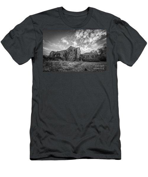Letchworth Village Morgue Bw Men's T-Shirt (Athletic Fit)