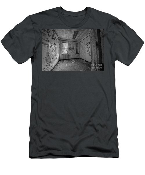 Letchworth Village Room Bw Men's T-Shirt (Athletic Fit)
