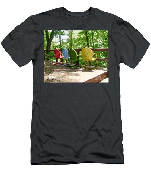 Let's Sit Men's T-Shirt (Athletic Fit)