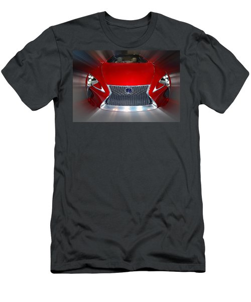 Lexus L F - L C Hybrid 2013 Men's T-Shirt (Athletic Fit)