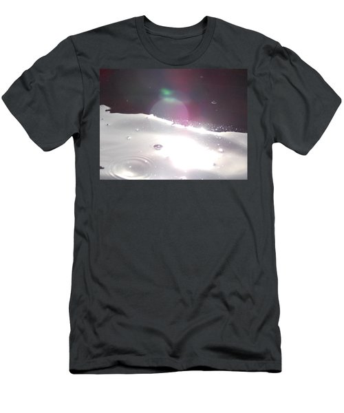 Spaced Out Men's T-Shirt (Slim Fit) by Deborah Moen