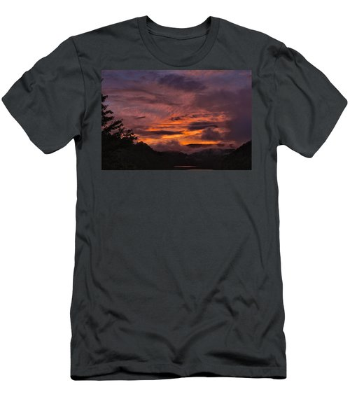 Light And Color Show Men's T-Shirt (Slim Fit) by Tom Culver