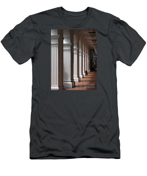 Men's T-Shirt (Slim Fit) featuring the photograph Light And Shadows by Ranjini Kandasamy