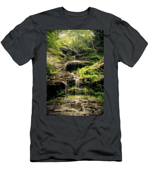 light flow at Cathedral Falls Men's T-Shirt (Athletic Fit)