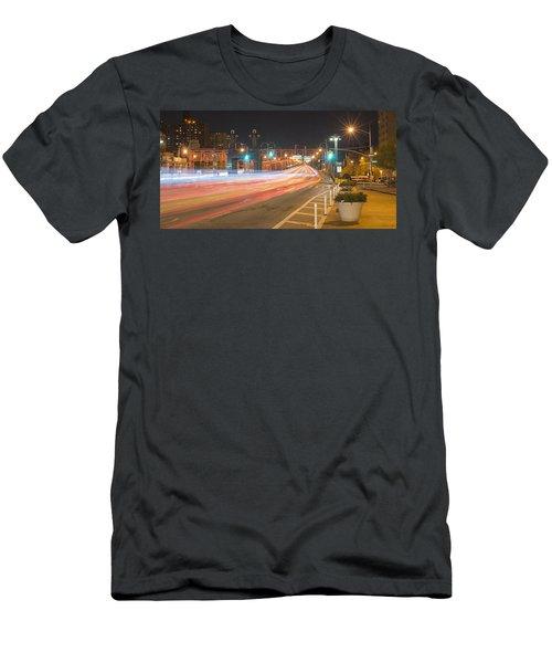 Light Traffic Men's T-Shirt (Athletic Fit)