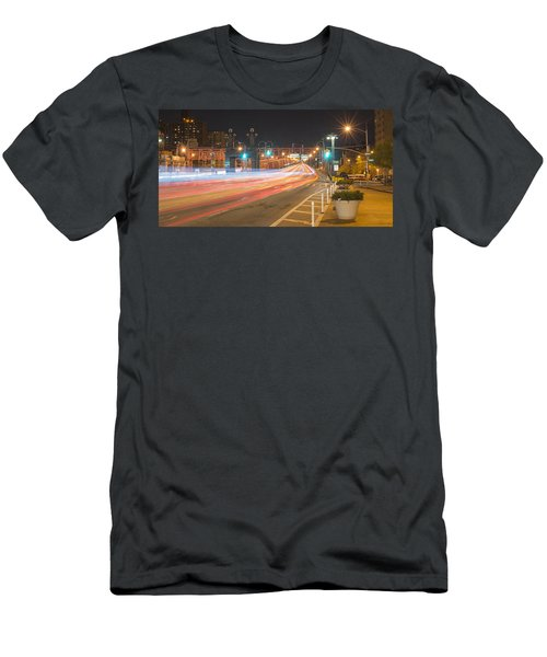 Light Traffic Men's T-Shirt (Athletic Fit)
