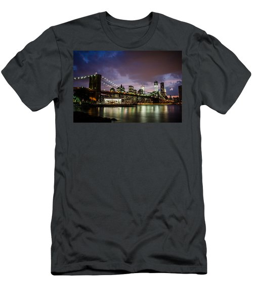 Light Up The Night Men's T-Shirt (Athletic Fit)