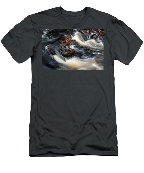 Men's T-Shirt (Athletic Fit) featuring the photograph Like A Rock by Doug Gibbons