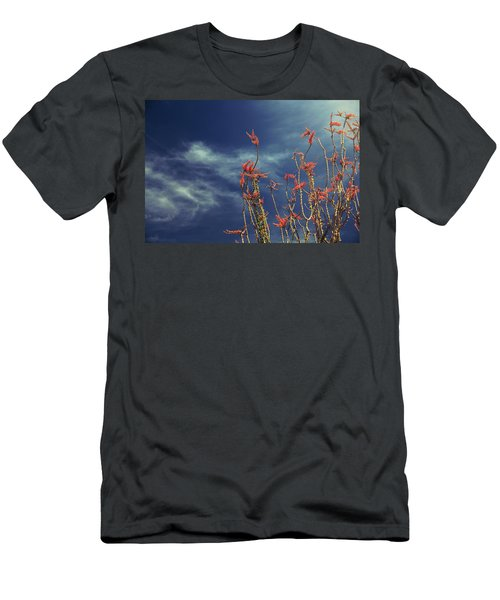Like Flying Amongst The Clouds Men's T-Shirt (Slim Fit) by Laurie Search