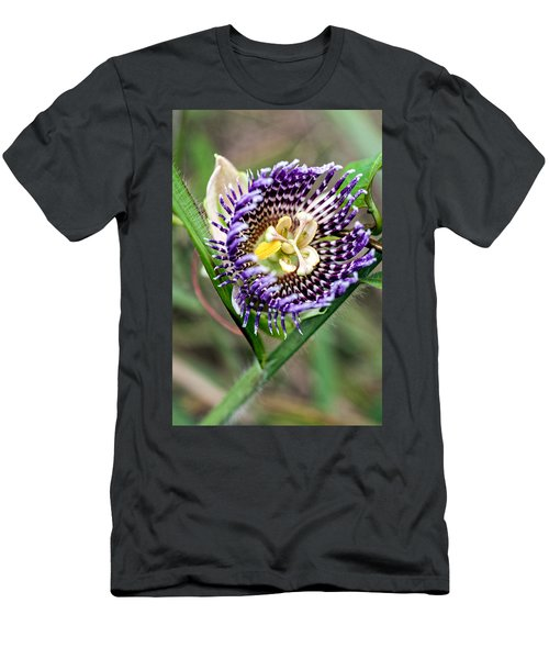 Men's T-Shirt (Athletic Fit) featuring the photograph Lilikoi Flower by Dan McManus