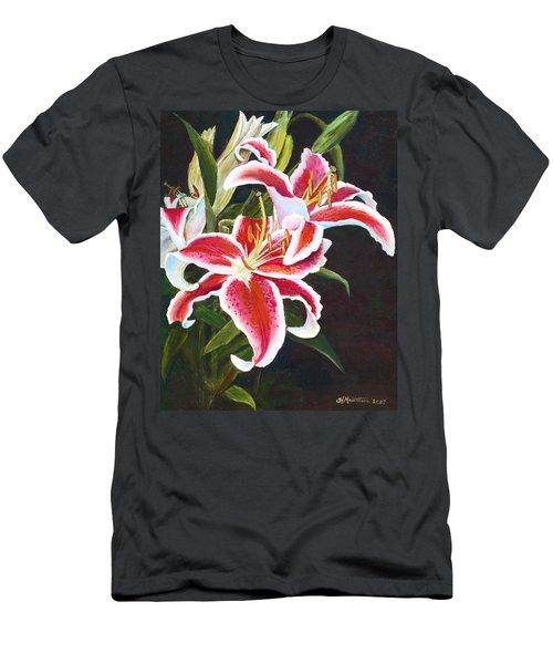 Lilli's Stargazers Men's T-Shirt (Slim Fit) by Harriett Masterson
