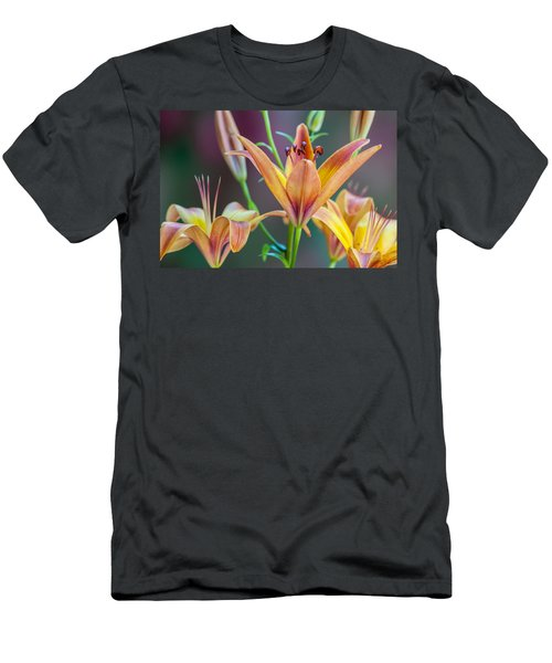 Lily From The Garden Men's T-Shirt (Athletic Fit)
