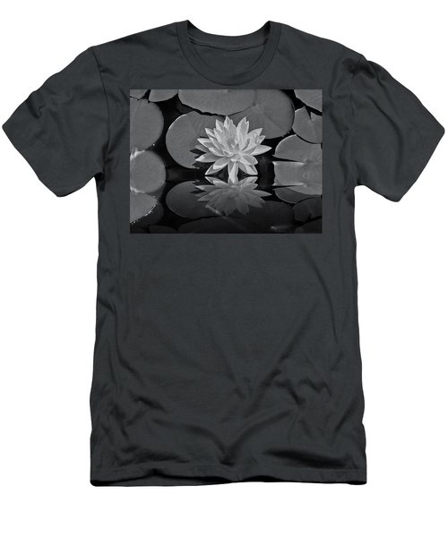 Lily On The Pond Men's T-Shirt (Athletic Fit)
