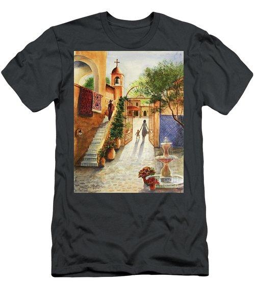 Lingering Spirit-sedona Men's T-Shirt (Athletic Fit)