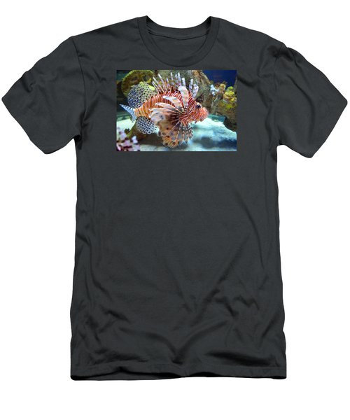 Lionfish Men's T-Shirt (Slim Fit) by Sandi OReilly