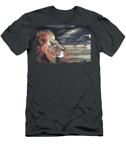 Lions Domain Men's T-Shirt (Athletic Fit)