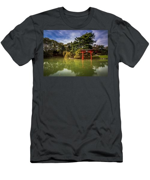 Men's T-Shirt (Athletic Fit) featuring the photograph Little Japan by Johnny Lam