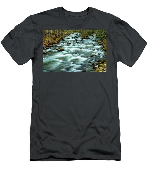 Little Pigeon River Men's T-Shirt (Athletic Fit)