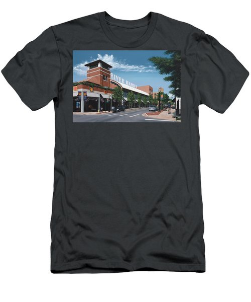 Little Rock River Market Men's T-Shirt (Athletic Fit)