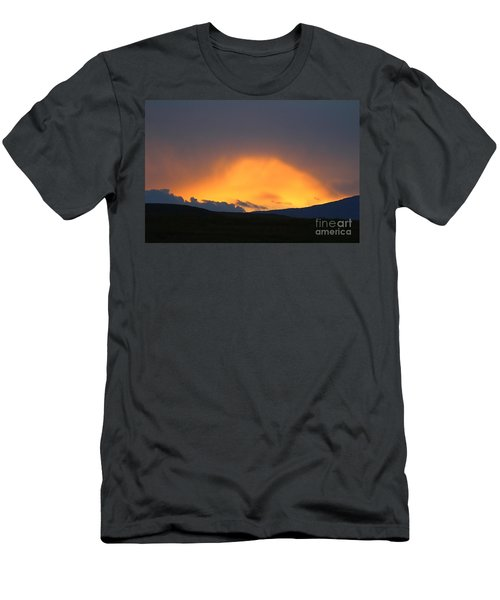 Livingstone Range Sunset Men's T-Shirt (Athletic Fit)