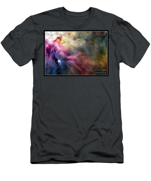 Ll Ori And The Orion Nebula Nasa Men's T-Shirt (Athletic Fit)