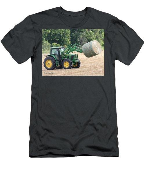 Loading Hay Men's T-Shirt (Slim Fit) by J McCombie
