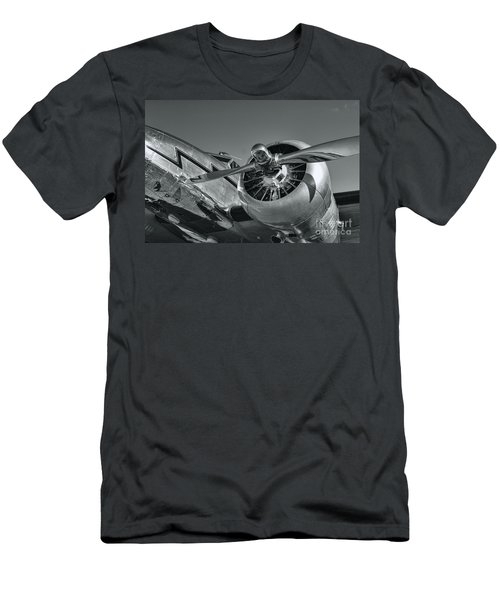 Lockheed 12a Electra Junior  Men's T-Shirt (Slim Fit) by Olga Hamilton