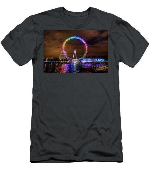 London Eye Pride Men's T-Shirt (Athletic Fit)