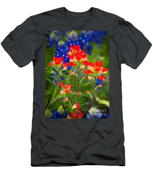 Lone Star Blooms Men's T-Shirt (Athletic Fit)