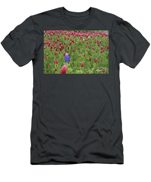 Lonely Bluebonnet Men's T-Shirt (Athletic Fit)
