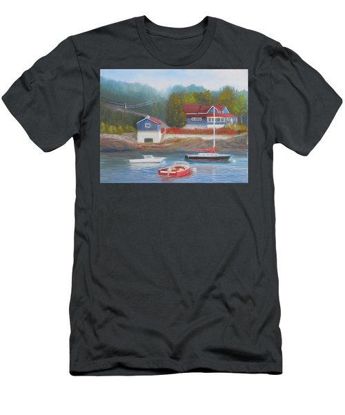 Long Cove Men's T-Shirt (Athletic Fit)