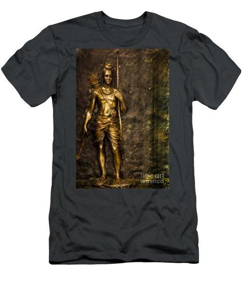 Lord Sri Ram Men's T-Shirt (Athletic Fit)
