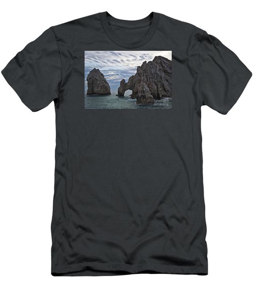 Los Arcos In Cabo San Lucas Men's T-Shirt (Slim Fit)