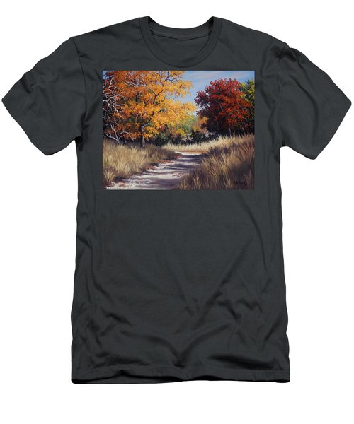 Lost Maples Trail Men's T-Shirt (Athletic Fit)
