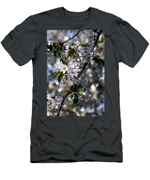 Lots Of Spring Flowers Men's T-Shirt (Athletic Fit)