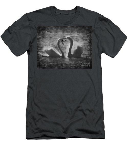 Love... Men's T-Shirt (Athletic Fit)