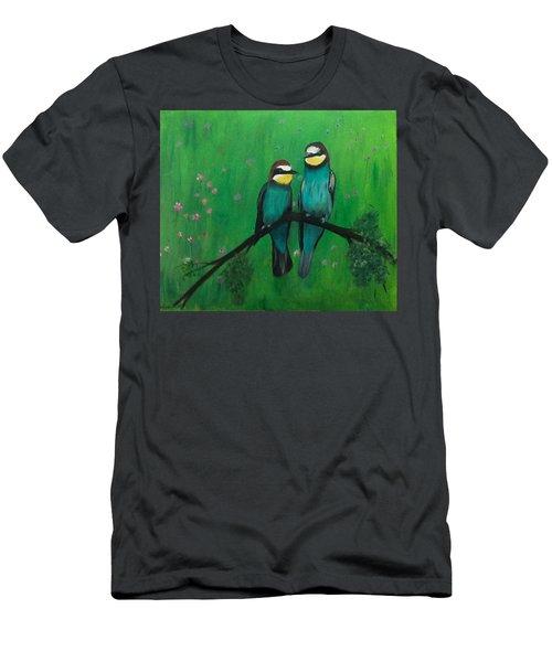 Lovey-dovey Men's T-Shirt (Athletic Fit)