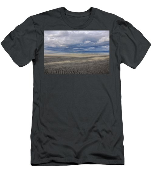 Low Tide Sandscape Men's T-Shirt (Athletic Fit)