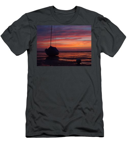 Sunrise At Low Tide Men's T-Shirt (Athletic Fit)
