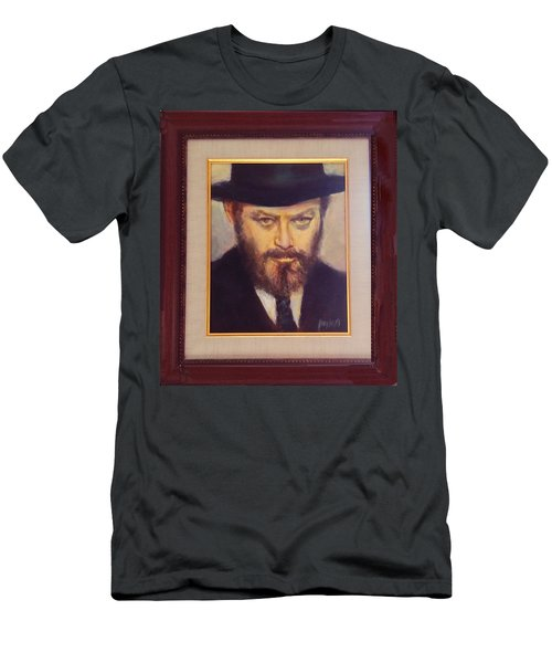 Lubavitcher Rebbe  Men's T-Shirt (Athletic Fit)