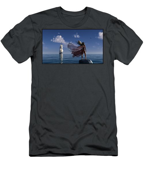 Lure Of The Siren... Men's T-Shirt (Athletic Fit)