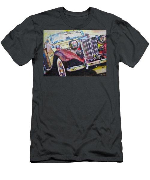 M G Car  Men's T-Shirt (Athletic Fit)