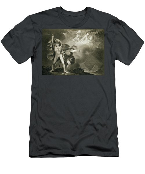 Macbeth Banquo And The Three Witches Men's T-Shirt (Athletic Fit)