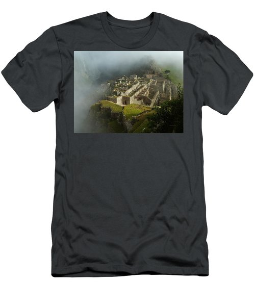 Machu Picchu Peru 2 Men's T-Shirt (Athletic Fit)