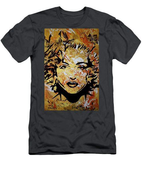 Men's T-Shirt (Athletic Fit) featuring the painting Maddona by Blake Emory