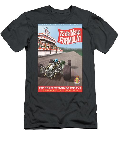 Madrid Grand Prix 1968 Men's T-Shirt (Athletic Fit)